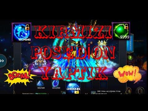 KIRMIZI #POSEDION YAPTIK | Legend Online Classic TR (видео)