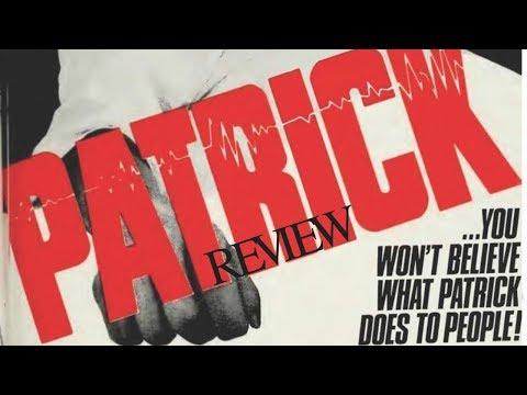 PATRICK Movie Review ( HORROR 1978)