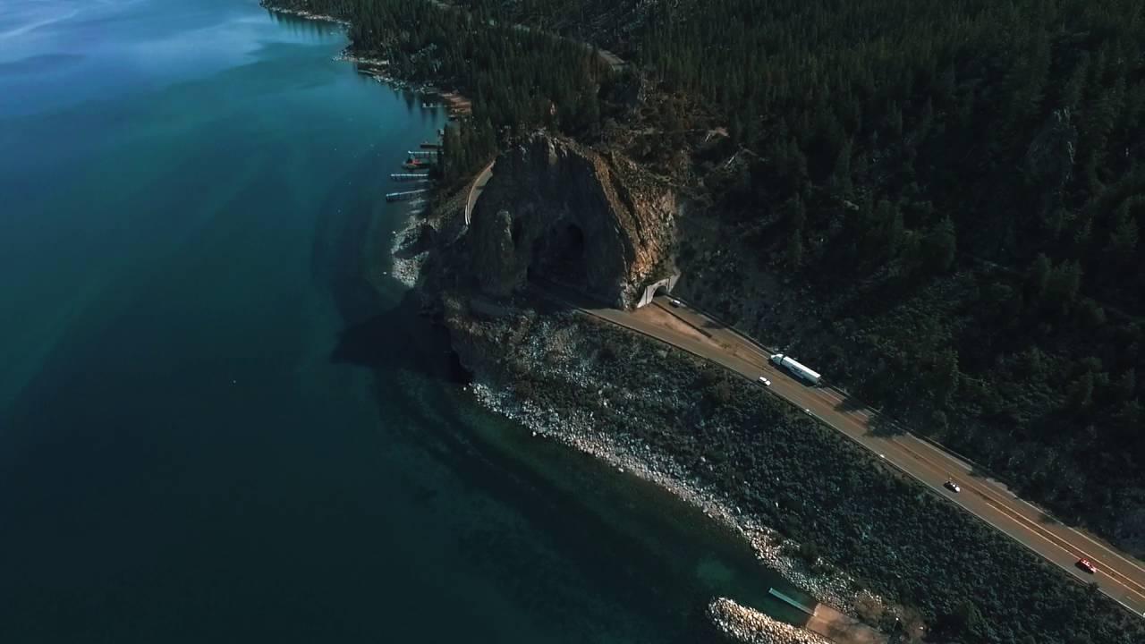 Cave Rock Tahoe