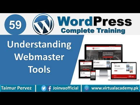 What is Webmaster tool | WordPress Complete Course | WordPress ...