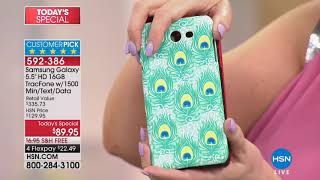 HSN | Electronic Connection featuring Samsung Tracfone 04.01.2018 - 04 PM