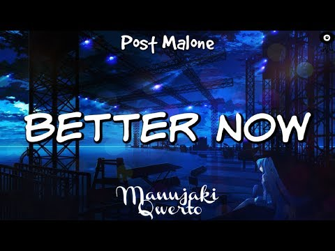 Nightcore] - Better Now (Lyrics) download YouTube video in
