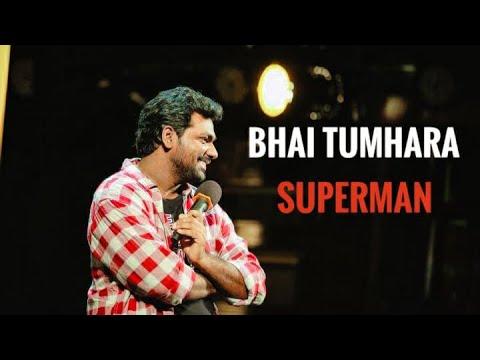 Zakir khan | Bhai Tumhara Superman | Comedy