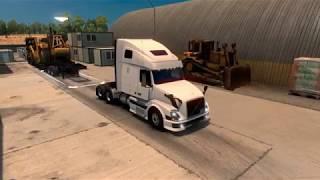 ATS // DLC Heavy Cargo + VNL 670 - Entrega em Los Angeles