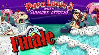 Papa Louie 3: When Sundaes Attack! - Finale - Level 9 - Radley Caverns (Final Boss)