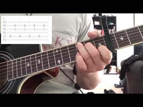 How To Play Nightshade By The Lumineers On Guitar - GuitarGuy