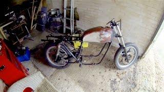 Cafe Racer Build Part 1, 78 Suzuki GS550