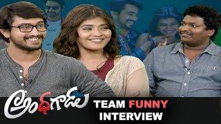 Andhhagadu Team Interview Video