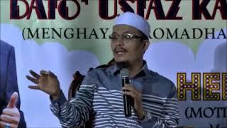 Terbaiklah Ustaz Kazim Elias SINDIR Perangai Masyarakat Melayu Sambut Ramadhan 2018