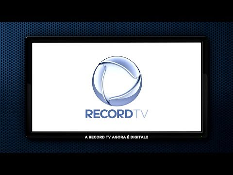 A RECORD TV AGORA É DIGITAL - Gente de Opinião