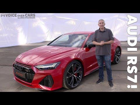 2020 Audi RS7 10 Fakten Daten Leistung Sound Check Premiere Vorstellung Details Sitzprobe