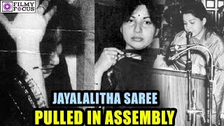 Jayalalitha Saree  Was Pulled In Assembly In 1989   Jayalalitha Crying After The Incident