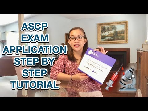 HOW TO APPLY MEDTECH ASCP EXAM STEP BY STEP ...