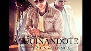 Alucinandote - J Alvarez Ft. Zion & Lennox Original (Letra) REGGAETON 2012