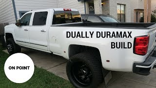 DURAMAX DUALLY BUILD SO FAR!