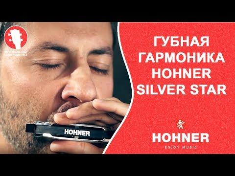 Губная гармоника диатоническая Hohner Silver Star, тональность A, M5041067