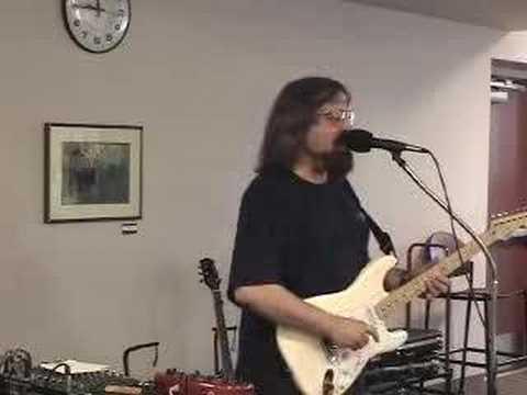 Paul Dennis plays the blues