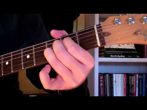 How To Play the Asus4 Chord On Guitar (Suspended Chord)