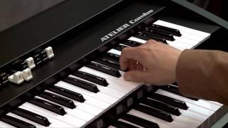 Bossa Nova organ song using organ sound