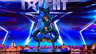 Britain's Got Talent 2017 Angara Contortion Absolutely Jaw Dropping Performance Full Audition S11E04