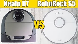 Neato Botvac D7 Connected  vs Roborock S5 (S50)
