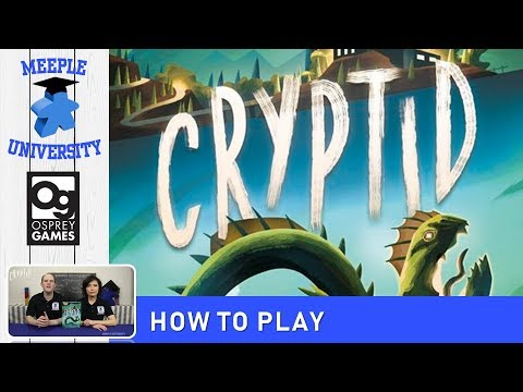 Cryptid Board Game – How to Play & Setup (CONCISE rules, so you can drop the rulebook!)