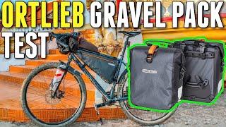 Ortlieb Gravel Pack Test - Ortlieb Bikepacking Taschen Lowrider Taschen - Packtaschen Erfahrungen