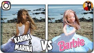Barbie Copiando Instagram De KARINA Y MARINA | Anima Toys