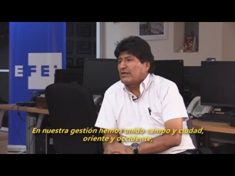 Evo Morales teme que estalle una guerra civil en Bolivia