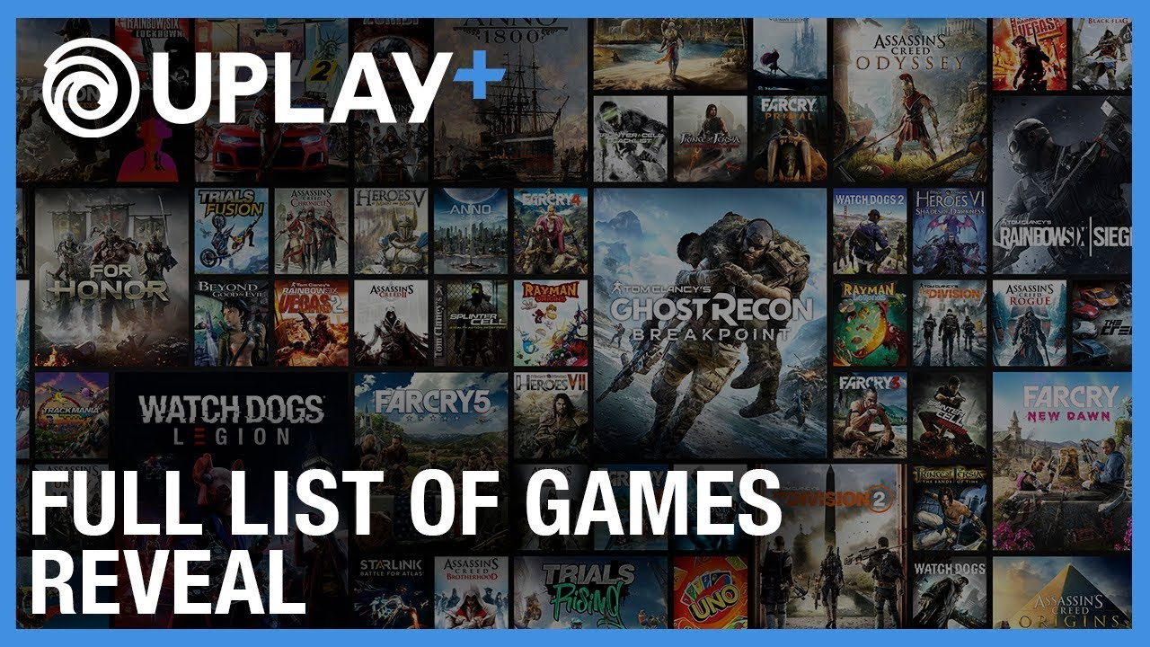 Full List of Games Coming To Uplay+ Revealed