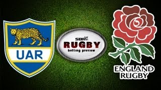 Argentina Vs England 2013 Test Series | Rugby Betting Preview