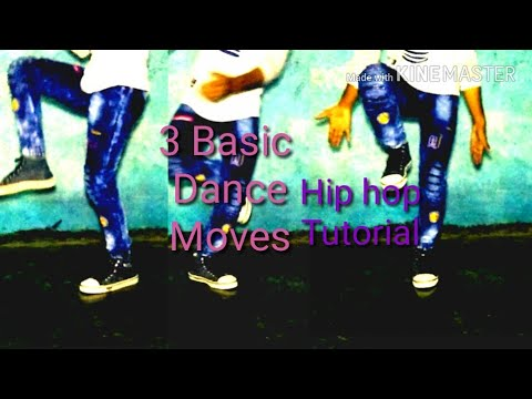3 Basic hip hop dance moves tutorial
