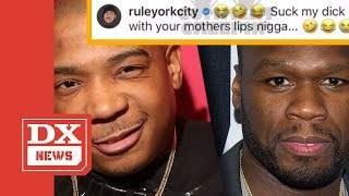 """Ja Rule Claps Back At 50 Cent For Saying He """"Only Sold 10 Tickets"""" At His Show So It Got Canceled"""