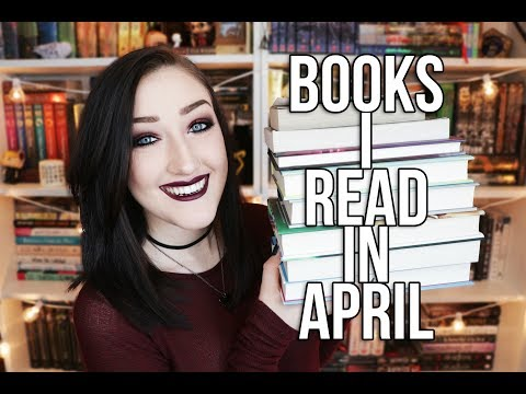BOOKS I READ IN APRIL.