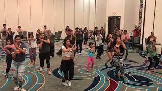 DHARMESH SIR  DANCE WORKSHOP 2018 BY ANAND ENTERTAINMENT IN ATLANA