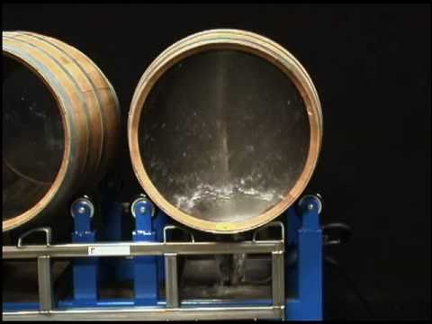 AaquaTools AaquaBlaster Container Cleaning Tool - perfect for wine barrel and tank cleaning.