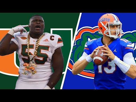 Miami Hurricanes vs Florida Gators Live Play by Play and Reactions