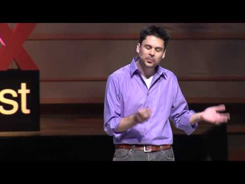 Screenshot of video: Teaching without words: Matthew Peterson at TEDx Talk