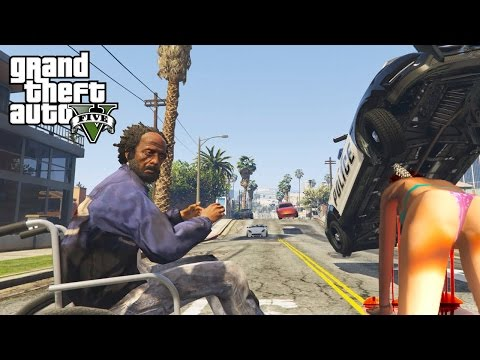 GTA 5 Modded Skits Series!! (GTA V Mods, Skits Best Moments Compilation)