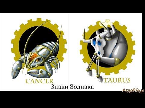 Вышивка крестом Знаки зодиака Стимпанк Рак Все крестики готовы