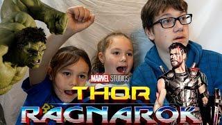 Thor: Ragnarok Teaser Trailer #1 Reaction!!!
