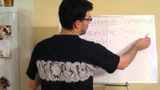Kvadratická nerovnice 2 - příklady