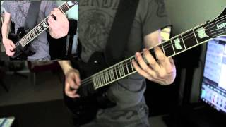Guitar cover: Dark Funeral - The End of Human Race