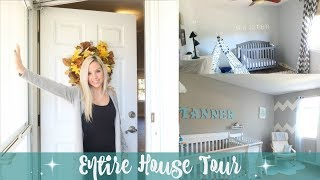 ENTIRE HOUSE TOUR!! // NEW DECOR // WELCOME TO MY HOME 2017
