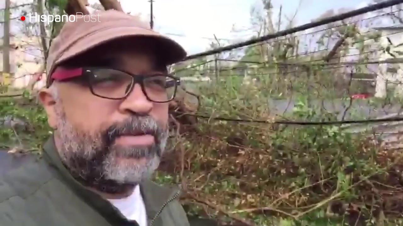 Constatamos la devastación que dejó María en las calles de Puerto Rico