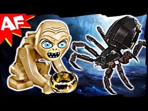 Vidéo LEGO Le Seigneur des Anneaux 9470 : L'attaque d'Arachne