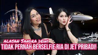 """""""ini alasan Sandra dewi tidak pernah berselfie ria di Jet Pribadi!"""" 1, 2, 3 Jawab Semuanya"""