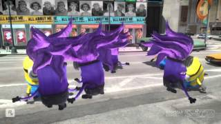 The Minions VS The Evil Minion