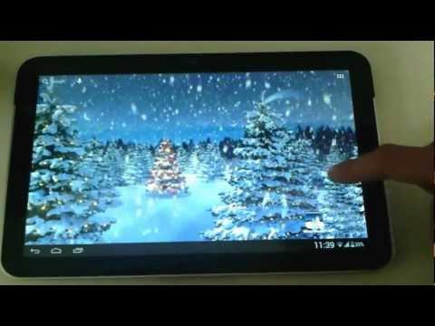 Video of Winter Wonderland Wallpaper