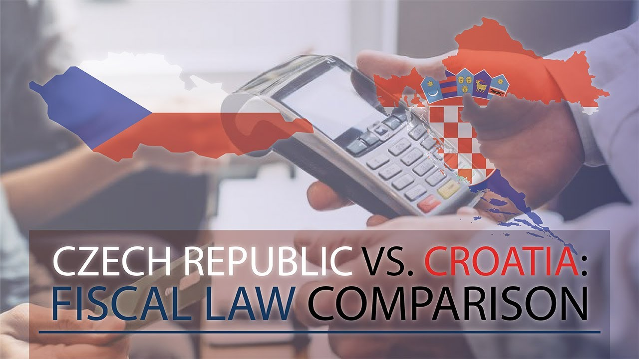 Differences in fiscal law between Czech Republic and Croatia
